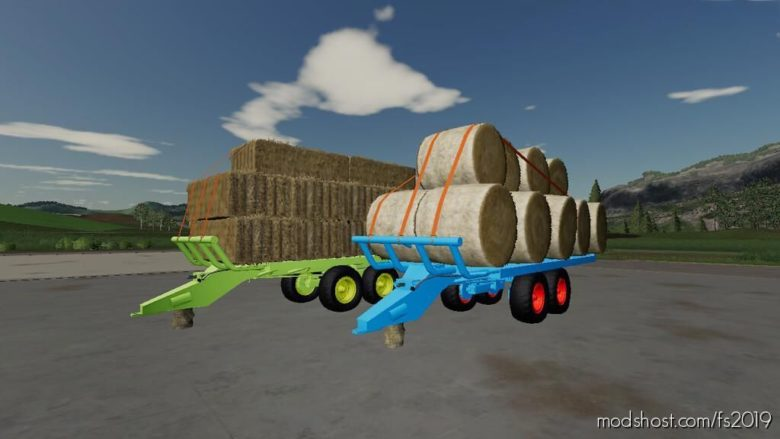 T088 Bale Trailer for Farming Simulator 19