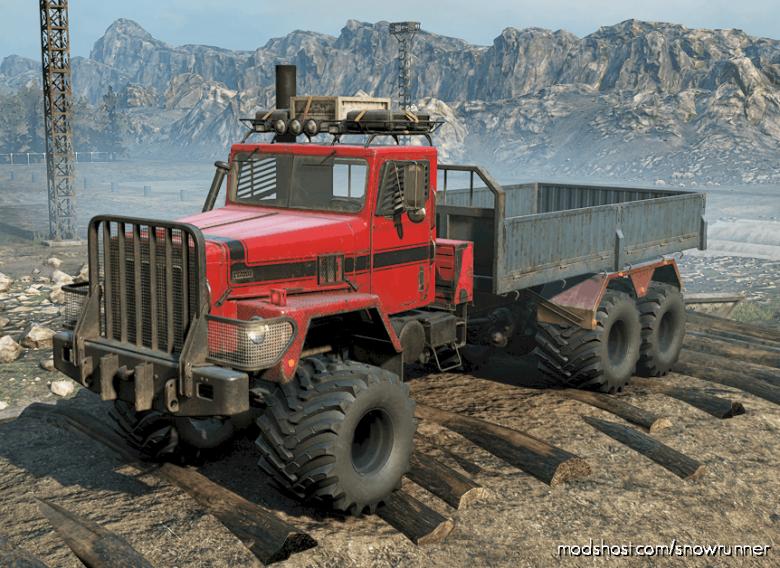 """M181 International Paystar 5070 """"Nomad"""" -Enhanced V for SnowRunner"""