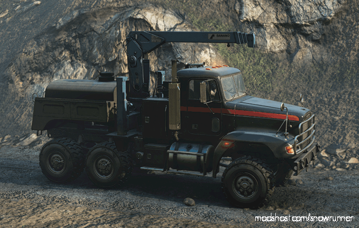 """M181 Freightliner M916A1 """"ONI"""" -Enhanced V for SnowRunner"""