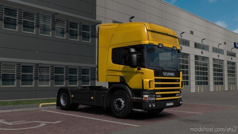 Scania P4 Series V1.4 [1.39] for Euro Truck Simulator 2