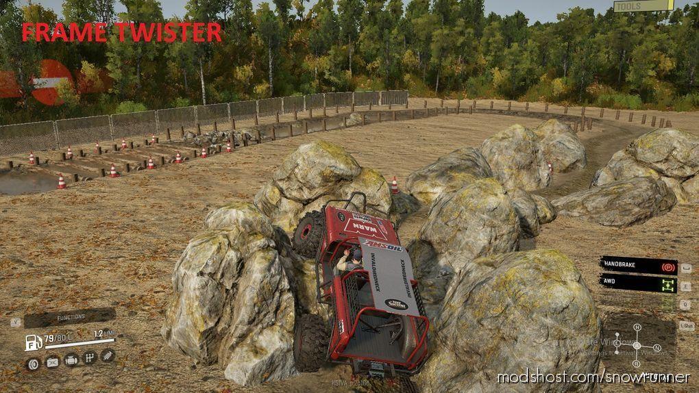 Base TOP Truck Challenge for SnowRunner