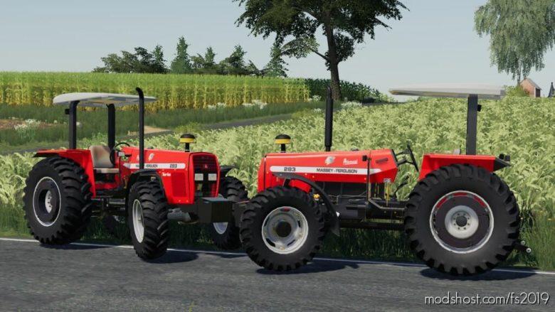 Massey Ferguson 283 [2002] for Farming Simulator 19
