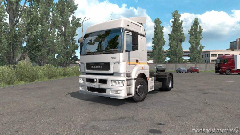 Kamaz 5490 NEO/65206 16.11.2020 [1.39] for Euro Truck Simulator 2