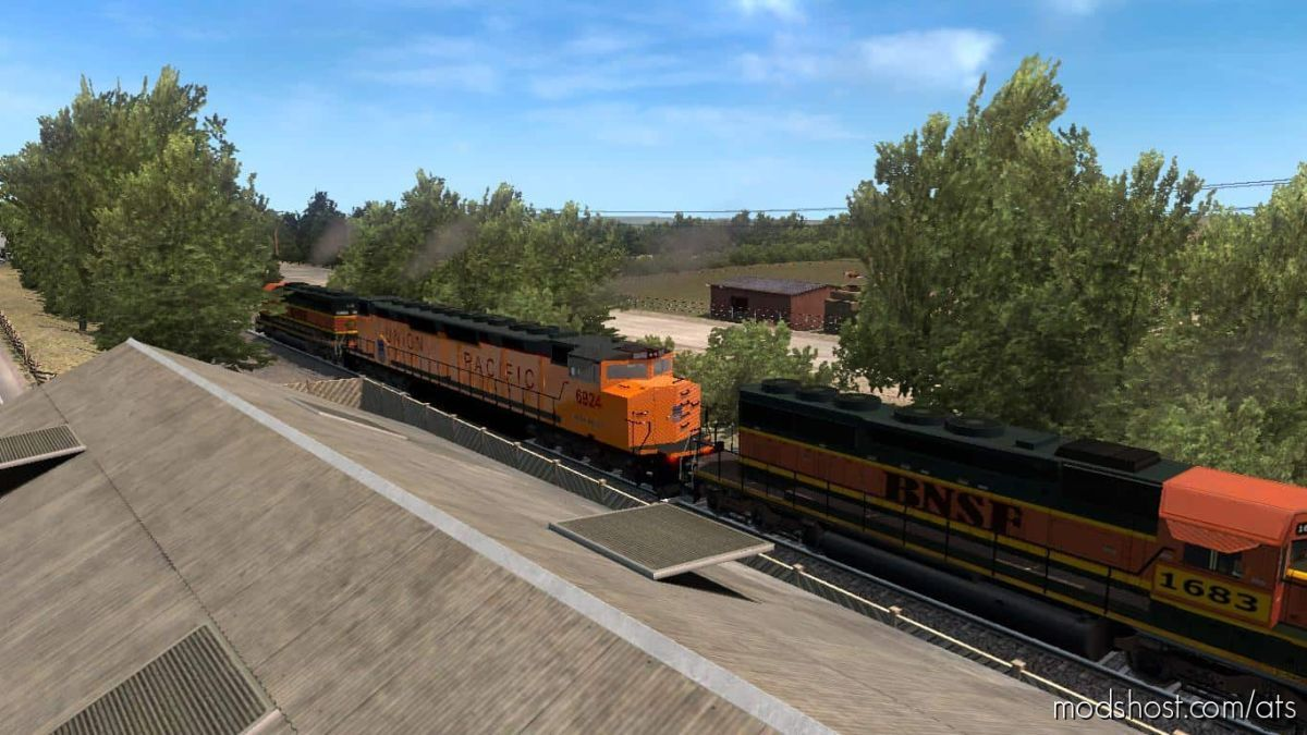 Improved Trains V3.6.2 [1.39] for American Truck Simulator