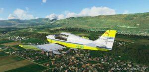 Robin DR400 Flugschule Grenchen Hb-Kbv for Microsoft Flight Simulator 2020