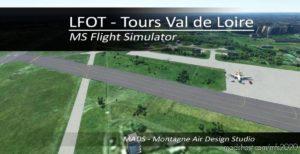 Lfot – Tours VAL DE Loire, France V2.0 for Microsoft Flight Simulator 2020