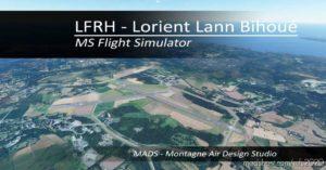 Lfrh – Lorient Lann Bihoué, France V2.0 for Microsoft Flight Simulator 2020