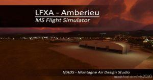 Lfxa – Ambérieu, France V2.0 for Microsoft Flight Simulator 2020