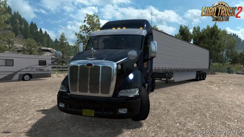 Peterbilt 387 + Interior V1.3 [1.39.X] for Euro Truck Simulator 2