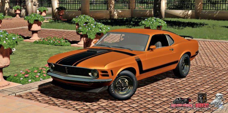 Ford Mustang Boss 302 for Farming Simulator 19
