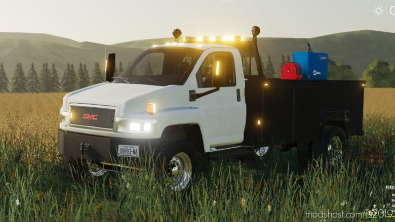 2005 GMC Topkick Service Truck for Farming Simulator 19