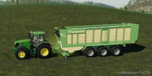Loading Wagon Krone Used for Farming Simulator 19