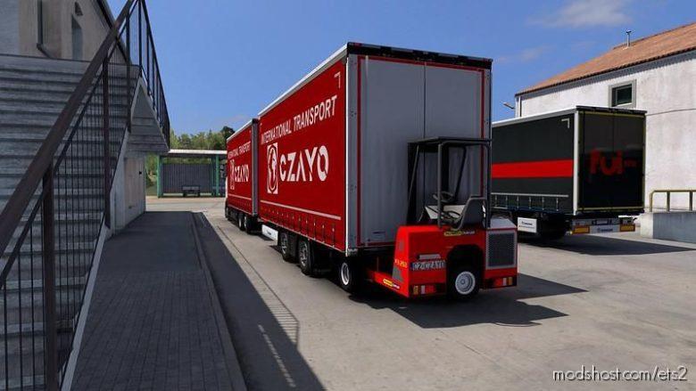 Tandem Krone For MAN Tga/Tgx/Tgx E6 [1.39] for Euro Truck Simulator 2