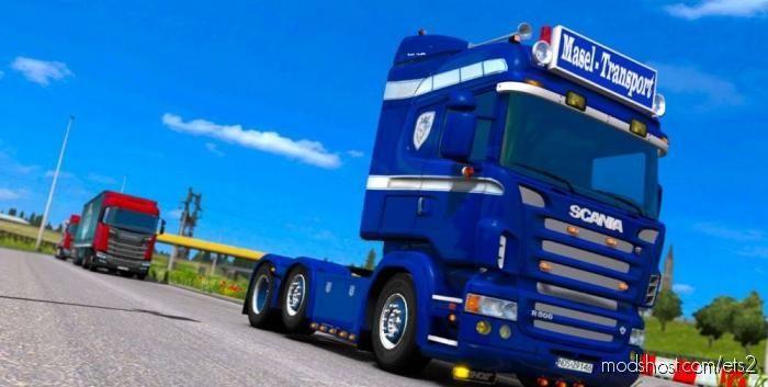 Scania RJL Highline Skin | Masel – Transport | Poland for Euro Truck Simulator 2