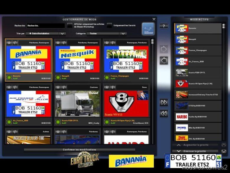 Skin Banania By BOB51160 for Euro Truck Simulator 2