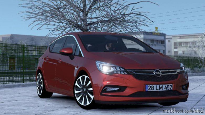 Opel Astra K R50 [1.39] for Euro Truck Simulator 2