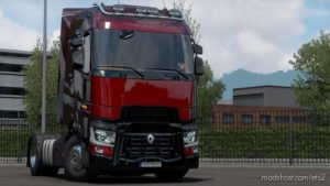 Piano Black Parts For Renault T [1.39] for Euro Truck Simulator 2