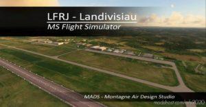 Lfrj – Landivisiau, France V2.0 for Microsoft Flight Simulator 2020