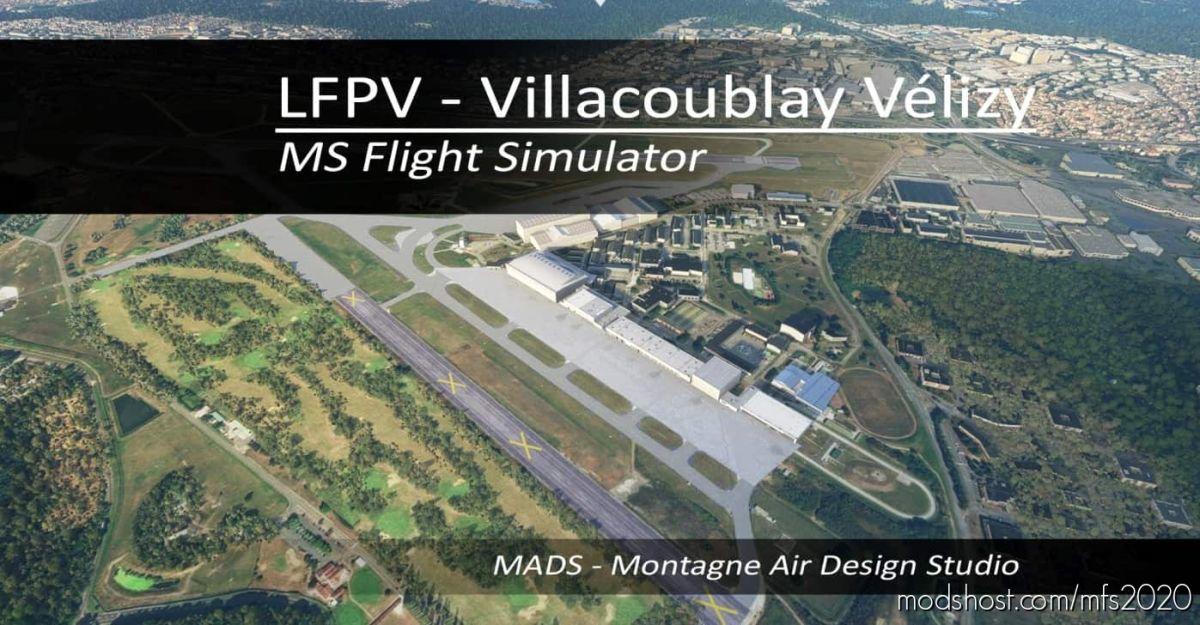 Lfpv – Villacoublay Vélizy, France V2.1 for Microsoft Flight Simulator 2020