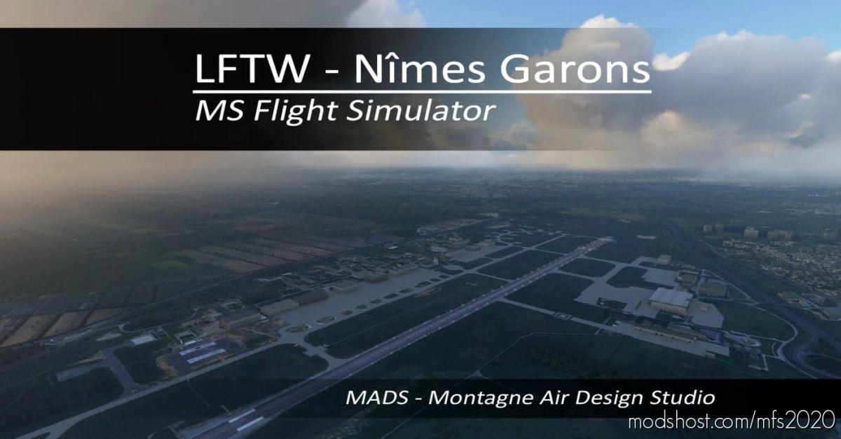 Lftw – Nîmes Garons, France V2.0 for Microsoft Flight Simulator 2020