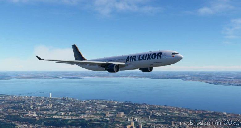 [4K] AIR Luxor A330-300 Livery for Microsoft Flight Simulator 2020