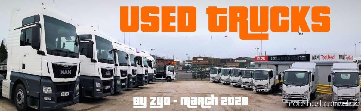 Used Trucks Fixed [1.39] for Euro Truck Simulator 2