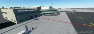 Grant County International Airport, Moses Lake WA USA – Kmwh for Microsoft Flight Simulator 2020