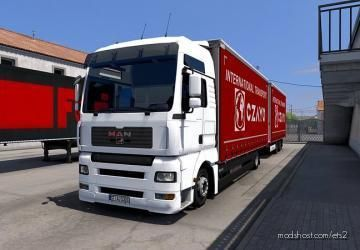 Tandem Krone Addon For MAN TGA V1.1 for Euro Truck Simulator 2