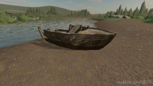 Wrecked Boat for Farming Simulator 19