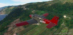 Bonanza Grey/Red for Microsoft Flight Simulator 2020