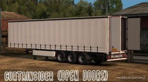 Curtainsider (Open Sides/Doors) 0.01X for Euro Truck Simulator 2