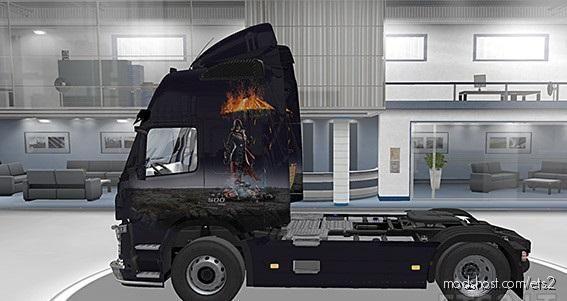 "Volvo FM Paint JOB ""Assassinv2"" for Euro Truck Simulator 2"