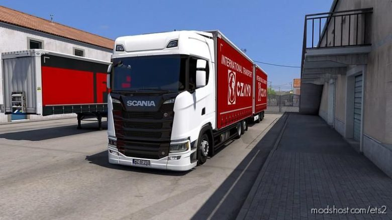 Tandem Krone For Scania NG P/G/R/S V1.1 [1.39] for Euro Truck Simulator 2