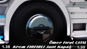 Chrome Ruffled RIM [1.38-1.39] for Euro Truck Simulator 2