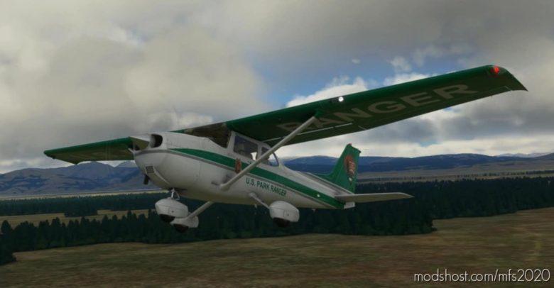 U.S. National Park Service Cessna 172 (G1000) – Park Ranger for Microsoft Flight Simulator 2020