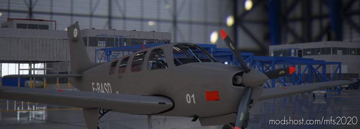 Bonanza G36 Ecole Militaire ! for Microsoft Flight Simulator 2020