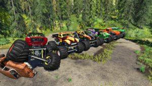 Monster Truck Pack for Farming Simulator 19