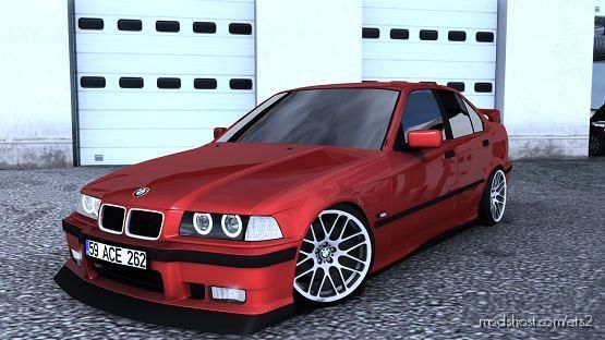 BMW E36 Sedan [1.39.X] for Euro Truck Simulator 2