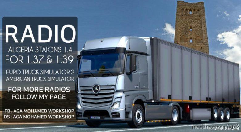 EL MOH Gamer – Algeria Stations Sounds – V1.4 for Euro Truck Simulator 2