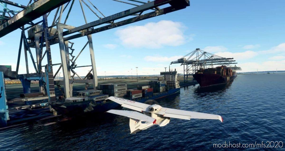 The Port Of LE Havre for Microsoft Flight Simulator 2020