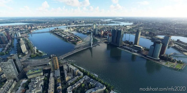 Rotterdam – City V1.2 for Microsoft Flight Simulator 2020