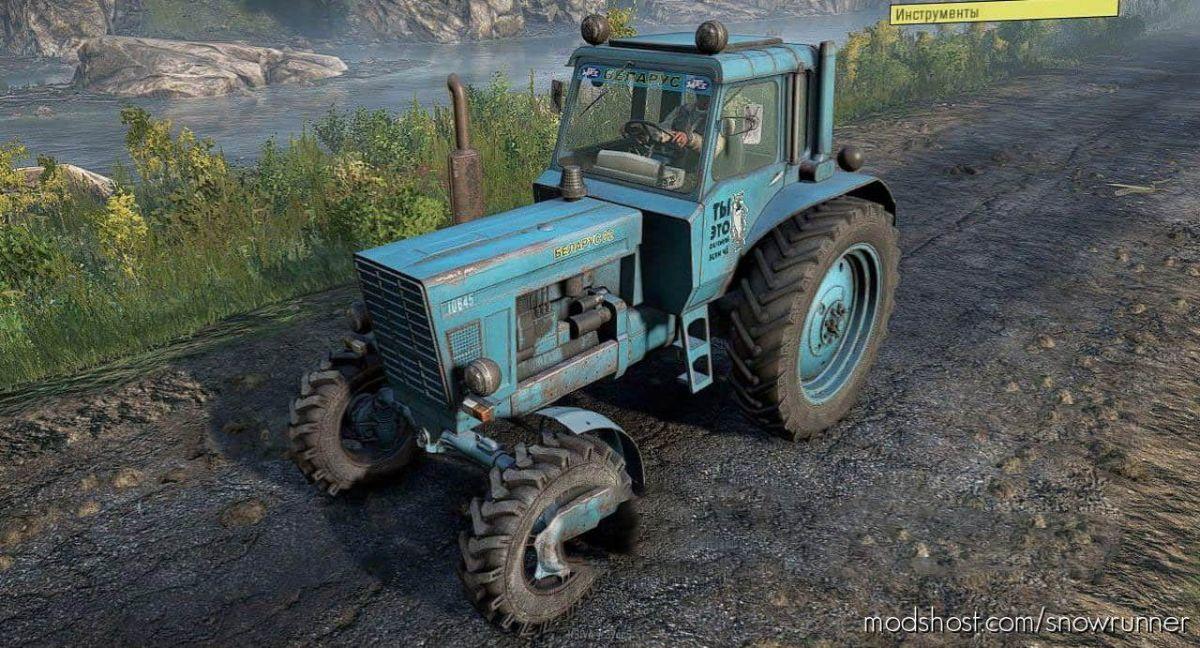 MTZ-80 Tractor V1.2 for SnowRunner