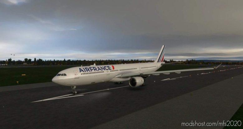 [4K] AIR France A330-300 Livery for Microsoft Flight Simulator 2020