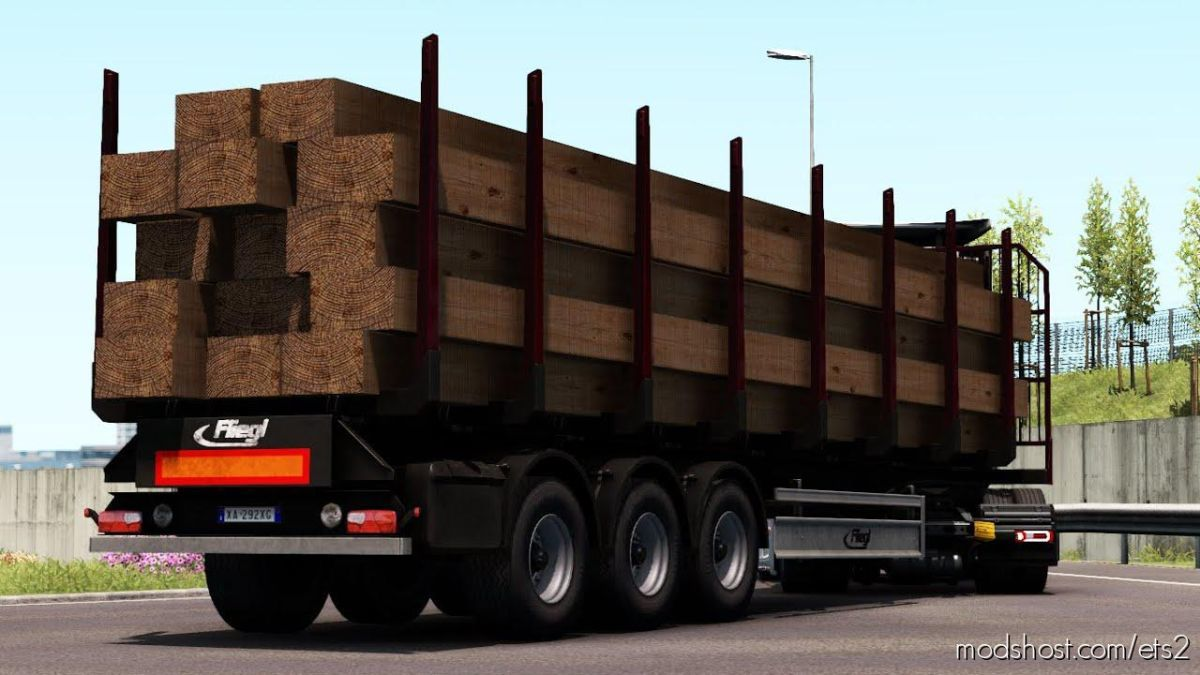 Ownable LOG Trailer Fliegl [1.39] for Euro Truck Simulator 2
