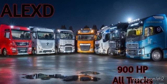 Alexd 900 HP Engine for Euro Truck Simulator 2