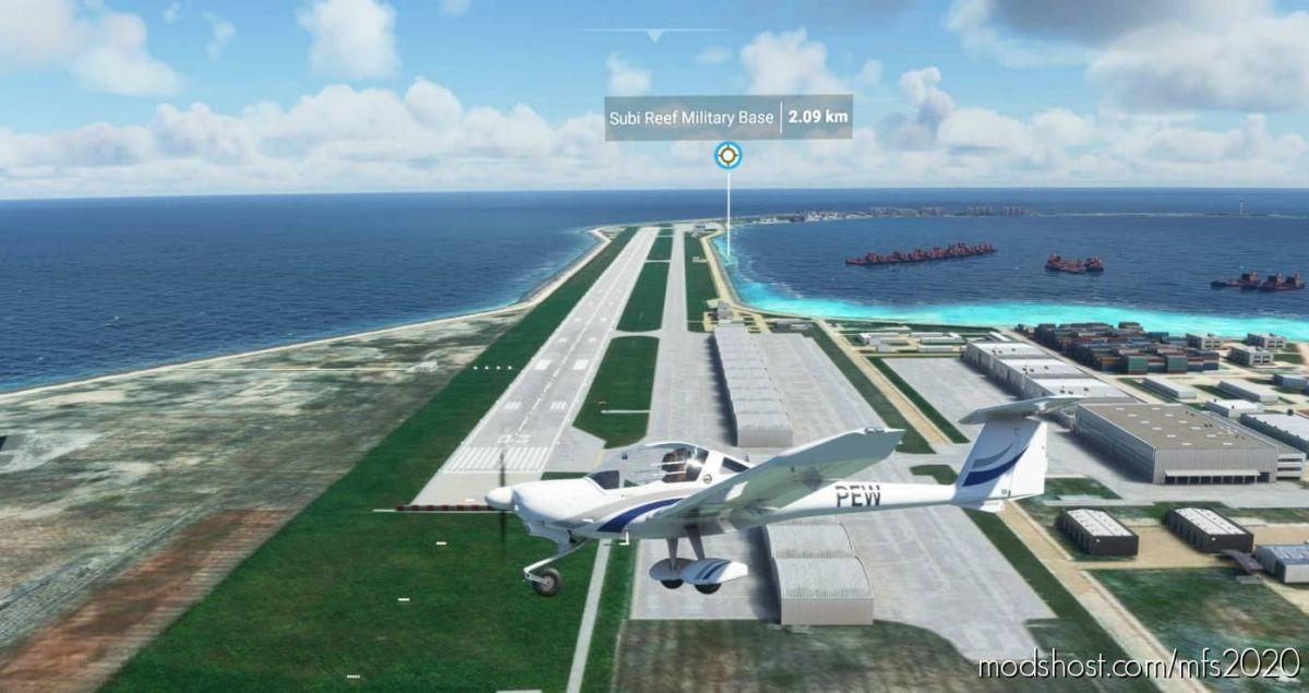 Zhubi Reef for Microsoft Flight Simulator 2020