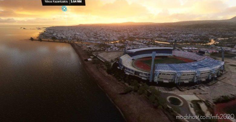 Heraklion – Crete (Greece) for Microsoft Flight Simulator 2020