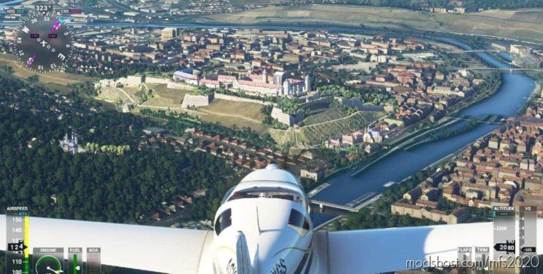 Megapack 9 German Castles Châteaux Allemands + POI for Microsoft Flight Simulator 2020