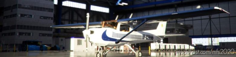 Cessna 152 Indiana Aerospace Livery V1.2 for Microsoft Flight Simulator 2020