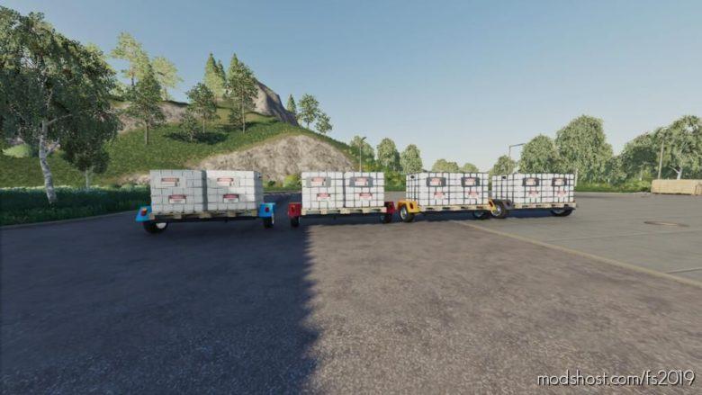 Small Fuel Trailer for Farming Simulator 19